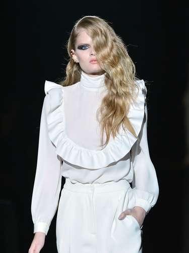 Francesco Scognamiglio levou simplicidade e sofisticação à passarela da semana de moda de Milão
