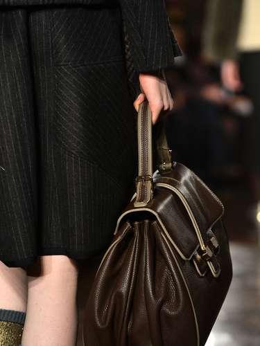 Antonio Marras apresentou diversos modelos de bolsas durante a semana de moda de Madri