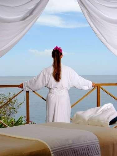 Anse Chastanet, Santa Lúcia: o spa Kai Belté oferece uma amplaa variedade de cuidados do corpo e tratamentos que incluem massagens com pedras quentes a dois, exfoliações com ervas locais, shiatsu e massagens relaxantes