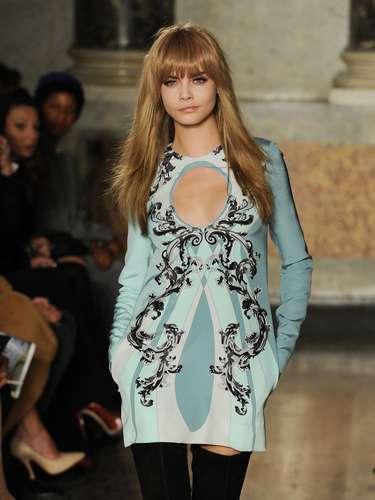 A grife Emilio Pucci apresentou sua coleção neste sábado (23) durante a semana de moda de Milão
