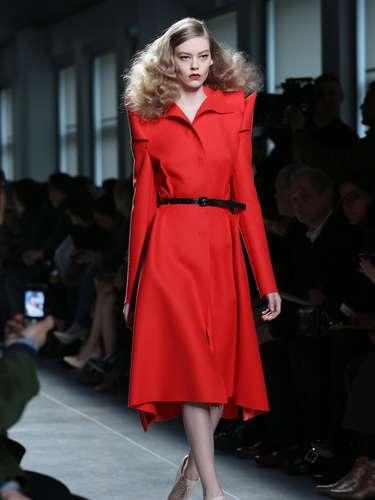 A Bottega Veneta foi uma das grifes a desfilar neste sábado (23), durante a semana de moda de Milão