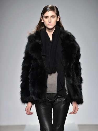 A Cividini foi mais uma grife a levar casacos de pele para a semana de moda de Milão