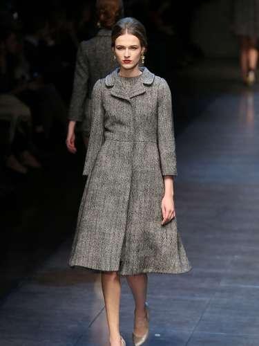 A Dolce & Gabbana desfilou neste domingo (24) na semana de moda de Milão
