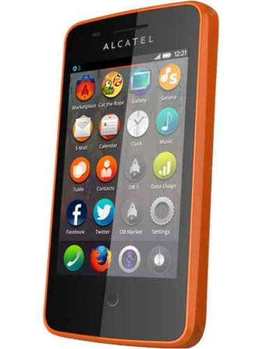 A Alcatel mostrou o One Touch Fire, smartphone com Firefox OS com tela de 3,5 polegadas, câmera de 3,2 MP, processador de 1 GHZ e 256 MB de RAM