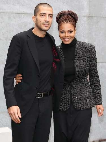 Janet estava acompanhada por seu namorado Wissam al Mana