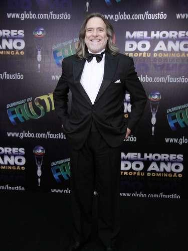 Famosos participam da 17° edição do prêmio 'Melhores do Ano', no Domingão do Faustão. Na foto, o ator José de Abreu