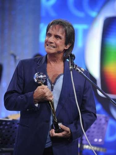 Roberto Carlos venceu na categoria Música do Ano, por 'Esse Cara Sou Eu', e Personalidade Musical