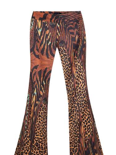Calcça estampa leopardo Thelure, R$ 556, Tel. 11 3167-5889