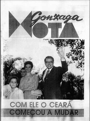 Eleito em 1982, Gonzaga Mota tomou posse como governador do Ceará em março de1983