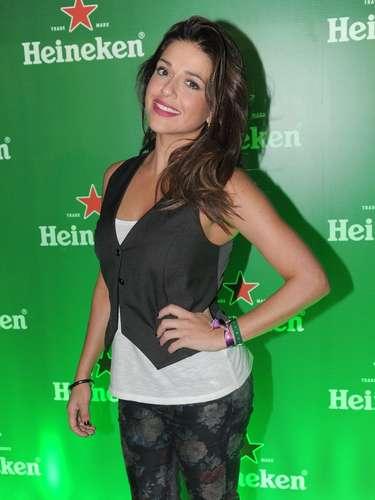 A atriz Priscila Sol, que atuou em 'Lado a Lado' (2012)