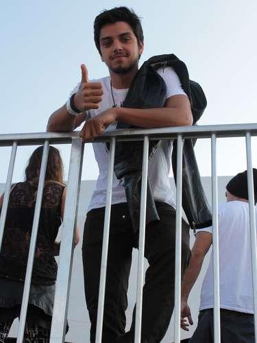 Famosos compareceram ao último dia de Lollapalooza, no Jockey Club de São Paulo, neste domingo (31). Na foto, Rodrigo Simas