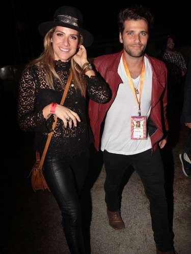 Famosos compareceram ao último dia de Lollapalooza, no Jockey Club de São Paulo, neste domingo (31). Na foto, Giovanna Ewbank e Bruno Gagliasso