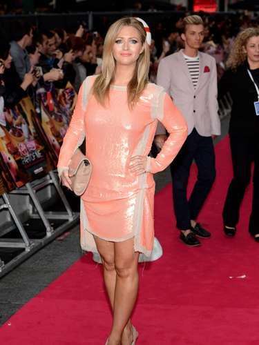Hayley McQueen - filha do ex-zagueiro escocês Gordon McQueen