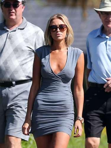 Paulina Gretzky - filha do ex-jogador de hóquei canadense Wayne Gretzky