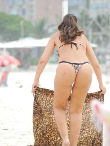 23 de abril Na praia de Copacabana, zona sul do Rio de Janeiro, o movimento foi bom na manhã desta terça-feira