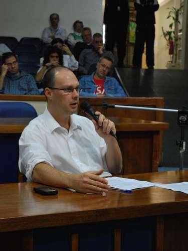 24 de abril - CPI ouviu nesta quarta-feira o secretário de Relações de Governo e Comunicação de Santa Maria, Giovani Manica
