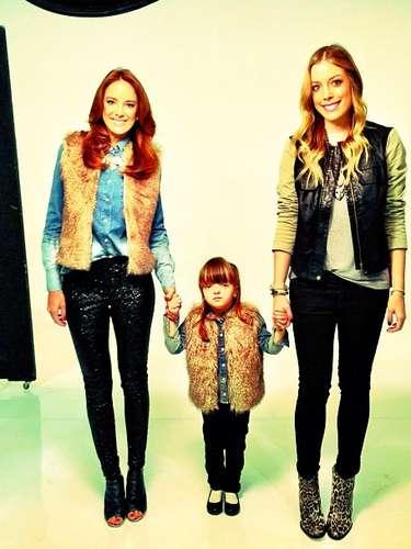 Rafa Justus posou ao lado da mãeTiciane Pinheiro e da irmã Fabiana Justus para campanha de Dia das Mães daPop Up Store