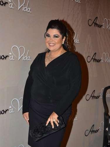 Fabiana_Karla foi a um buffet, em São Paulo, para o lançamento oficial da nova trama das 21h, 'Amor à Vida'