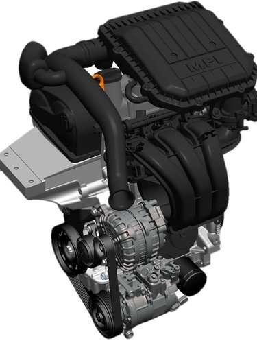Novo motor 3 cilindros
