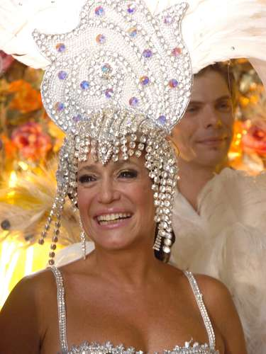Susana como a personagem Maria do Carmo, da novela global 'Senhora do Destino' (2005)