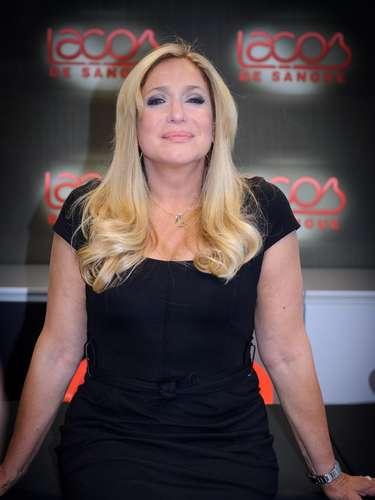 Susana posa para foto em 2010