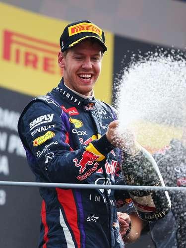 Sebastian Vettel: GANHA \