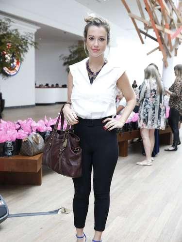 A atriz Juliana Didone foi uma das convidadas do evento