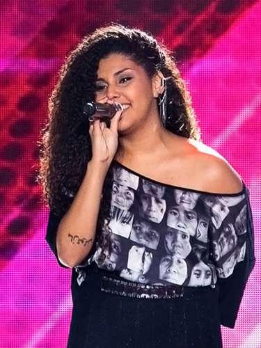 Amanda Amado cantou'Trajetória'e escolheu Claudia Leitte