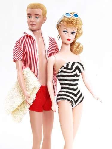 O namorado da Barbie, Ken ( Barbie e Ken dos anos 60) foi lançado em 1961. Seu nome homenageia o filho da criadora da Barbie, Kenneth