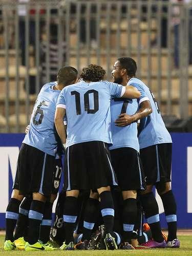 Uruguai - vencedor da repescagem entre o quinto colocado das Eliminatórias da América do Sul contra o quinto da Ásia