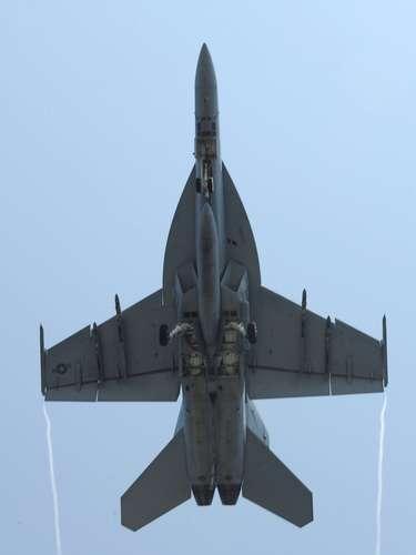 Super Hornet -O primeiro esquadrão operacional do F/A-18E/F foi criado em junho de 2001