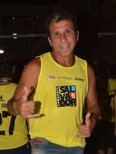 O Camarote Salvador recebeu muitas celebridades na noite dessa quinta-feira (27). Na foto, Eri Johnson