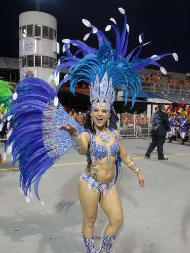 O desfile foi o último das escolas de samba do Grupo Especial de São Paulo, que terminou na madrugada deste domingo