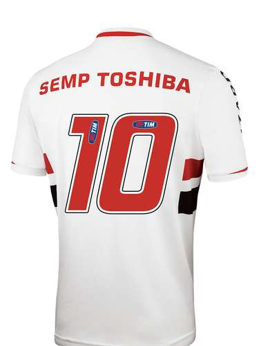 O São Paulo lançou, neste sábado, o novo uniforme, que será utilizado na temporada 2014; confira