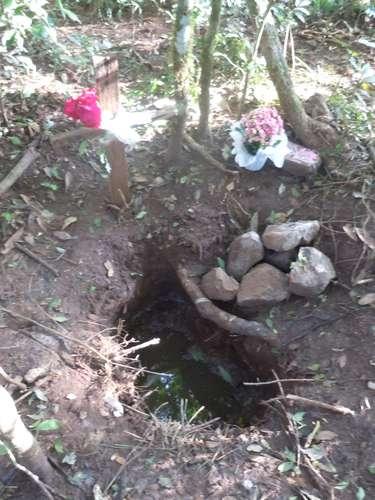Menino Bernardo foi enterrado em uma cova no interior de Frederico Westphalen