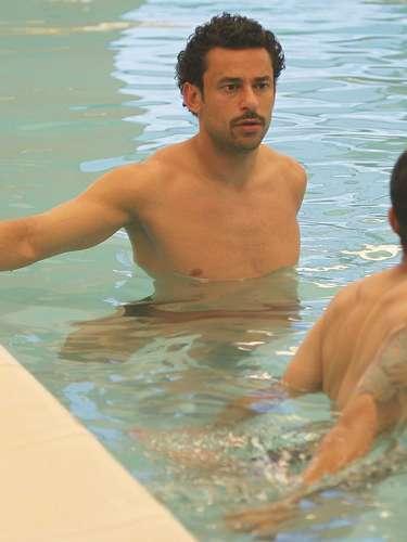 Depois de um dia de folga, a Seleção Brasileira voltou à ativa nesta segunda-feira; além de treino na Granja Comary, os jogadores fizeram exercícios regenerativos na piscina, onde tiveram alguns momementos de descontração e aproveitaram para fazer poses engraçadas para os fotógrafos