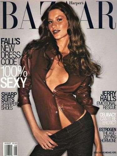 Em 1999, a top fotografou pela primeira vez para a conceituada revista de moda Harper's Bazaar