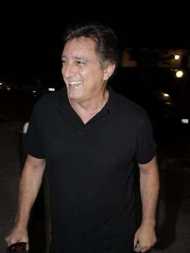 Eduardo Galvão na festa de Angélica