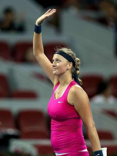 22: Petra Kvitova (República Checa): tênis - 261mil pesquisas