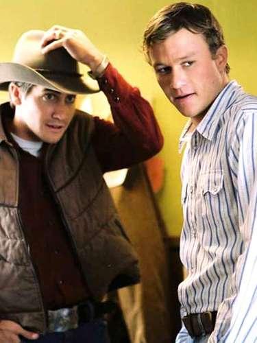 Um dos trabalhos mais importantes de Heath Ledger foi o polêmico 'O Mistério de Brokeback Mountain' (2005), em que se apaixonava por outro homem, interpretado por Jake Gyllenhaal
