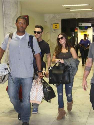 A atriz e modelo americana desembarca no Rio neste domingo com a família para curtir o Carnaval carioca
