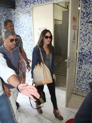 Megan se mostrou interessada em conhecer o Rio de Janeiro e sua cultura