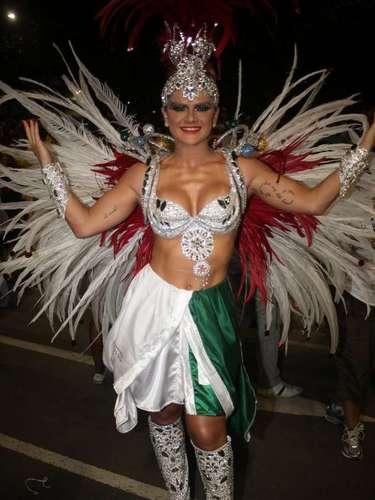Mirella Santos foi um dos destaque da Grande Rio