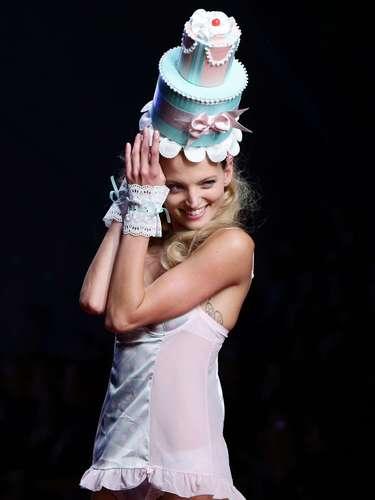 Desfile da Yamamay na semana de moda de Milão
