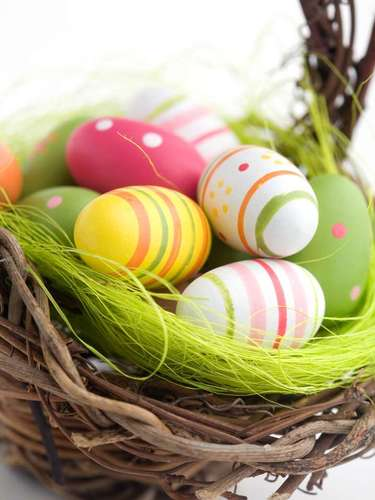 Antes de existir a versão de chocolate, os ovos presenteados eram de galinha