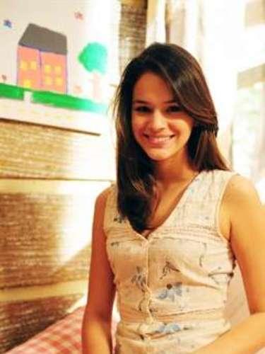 Em 2010, a atrizviveu Teresinha na novela 'Araguaia', da TV Globo