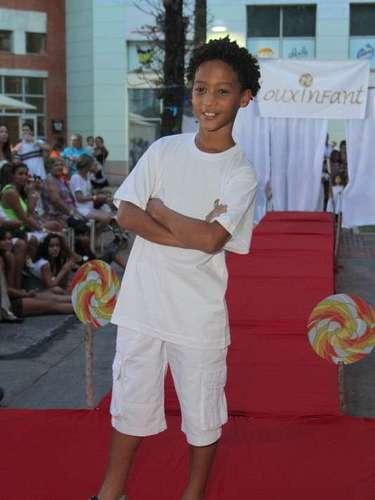 Patrick Fragoso Barbosa, que interpretou o filho de Penha (Taís Araújo) na novelaCheias de Charme, também se apresentou pela marca
