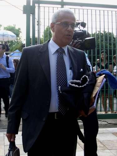 12 de março -Advogado Ivon Ribeiro considerou o primeiro dia de julgamento favorável ao seu cliente Mizael