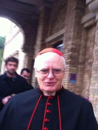 12 de março -Odilo Scherer é apontado como especialistas como um dos favoritos à sucessão de Bento XVI