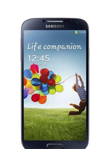 O Galaxy S4 tem tela de 5 polegadas com 1080p de resolução, que a Samsung chamou de Full HD Super AMOLED